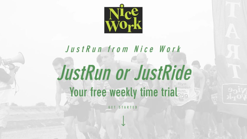 Free weekly 5K time trial from Nice Work