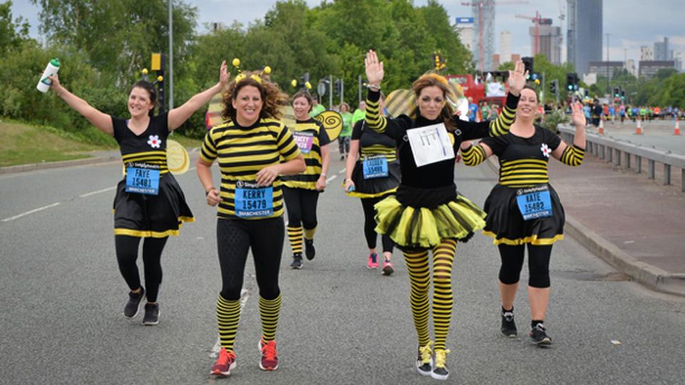 Runners are buzzing at the Great Manchester Run