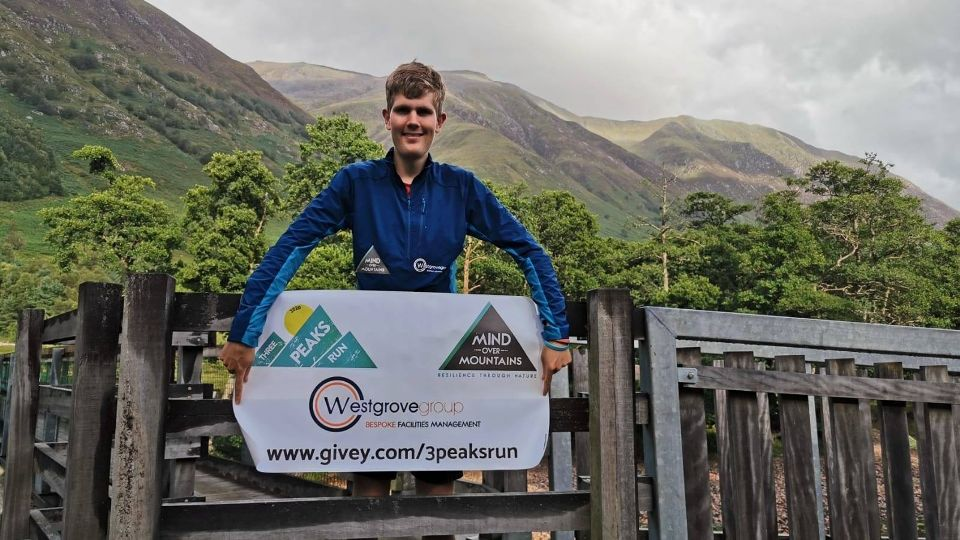 Alex Staniforth gearing up for his 3 Peaks Challenge Run