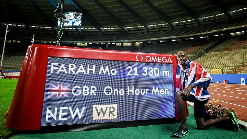 Mo Farah world record