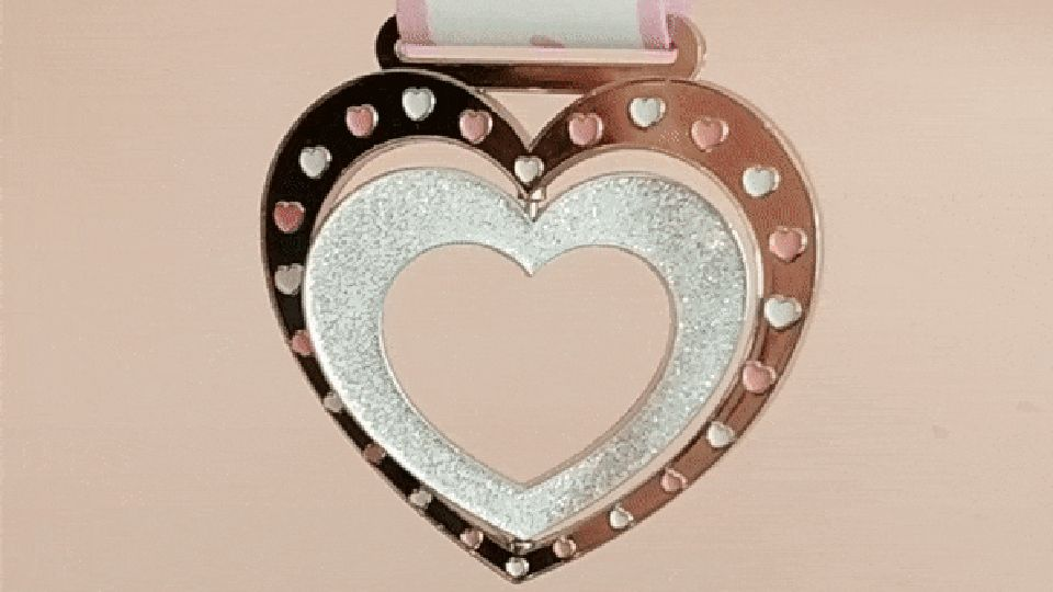 Virtual Love Run 5K Medal