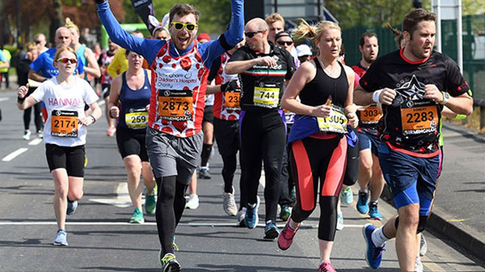 runners at Great Birmingham 10K