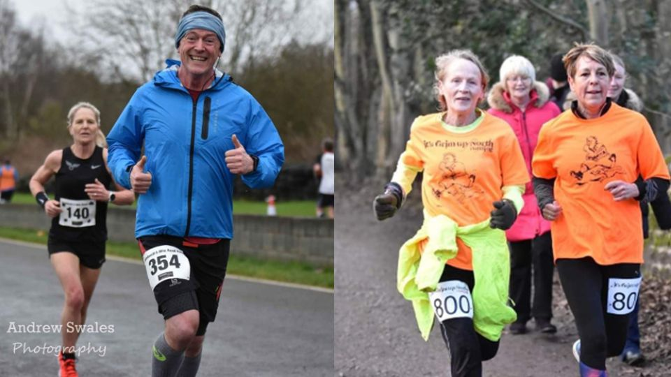 John Walton and Diane Shaw to run for 12 hours in Grim United charity challenge