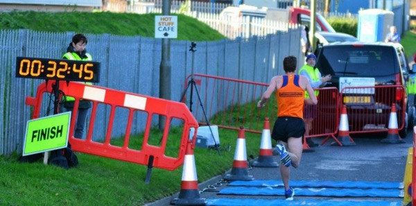 action from Accrington 10K