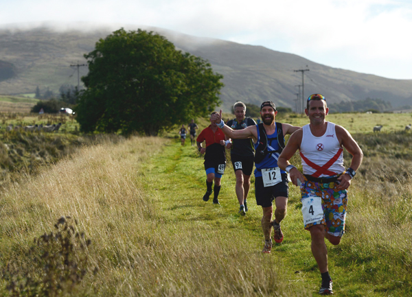 action from the River Ayr Way ultra