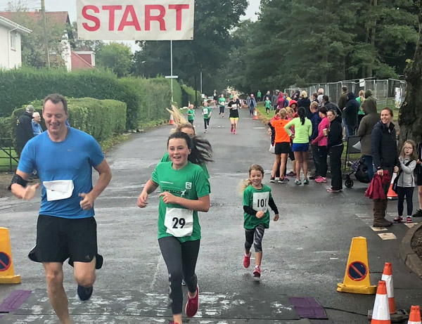 action from Kilmacolm running festival