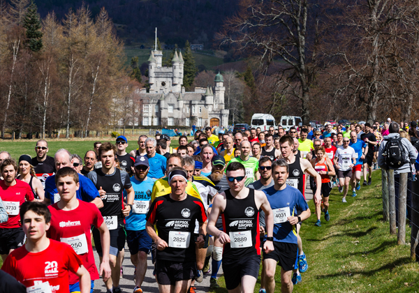 runners at Balmoral