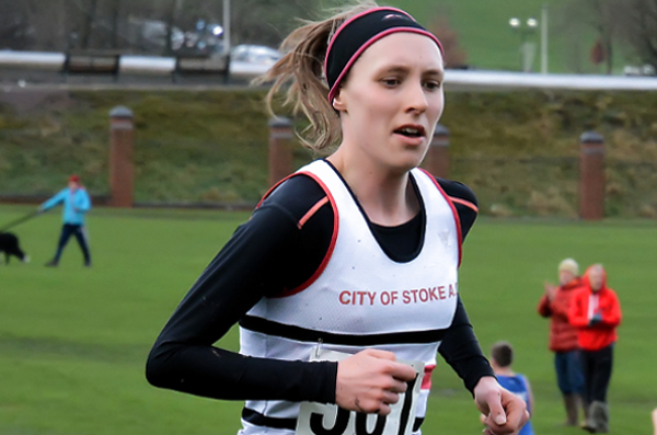 Katie Hol At Staffordshire XC Championships