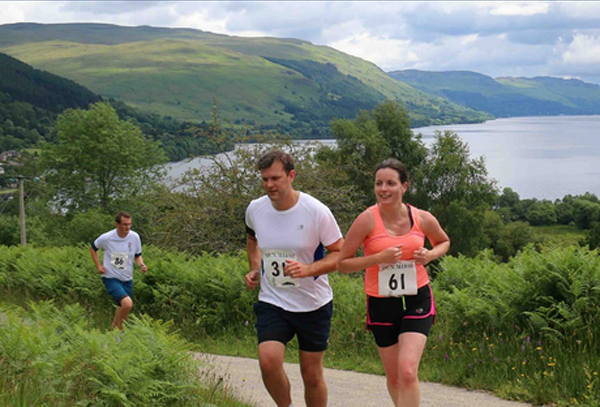 Race action from Run Mhor