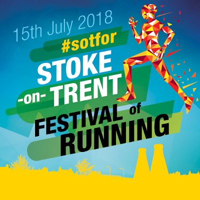 Stoke on Trent Festival Of Running Poster