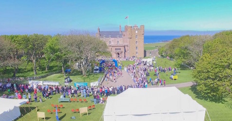View of the Castle of Mey