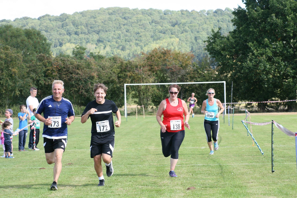 Finish At Alderton 5K