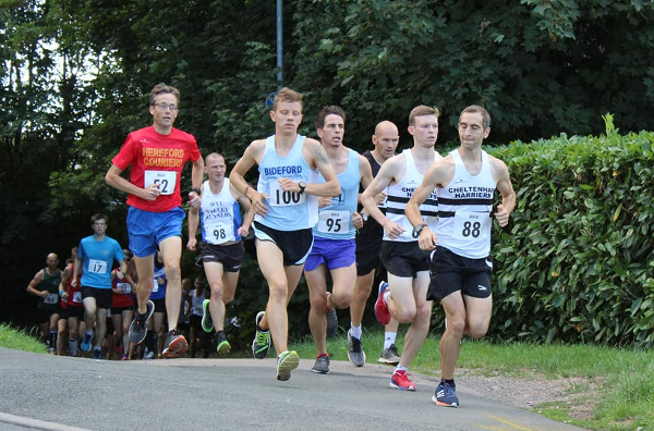 Runners At The Wye Valley 10 Mile