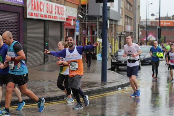Runners Battle Torrential Rain At Great Birmingham Run