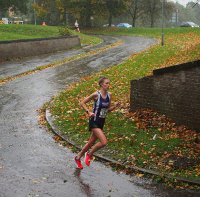 Rachel Doherty Winning At The Daventry RR 10K
