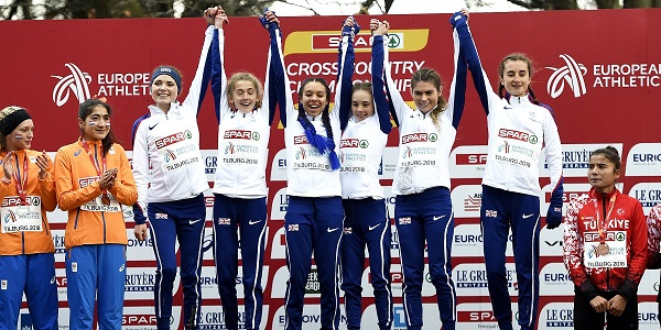 Euro Cross success for GB under-20 women 2018