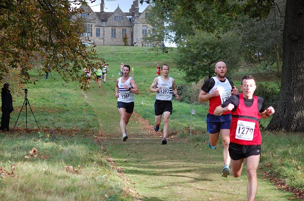 Kent League XC men's race