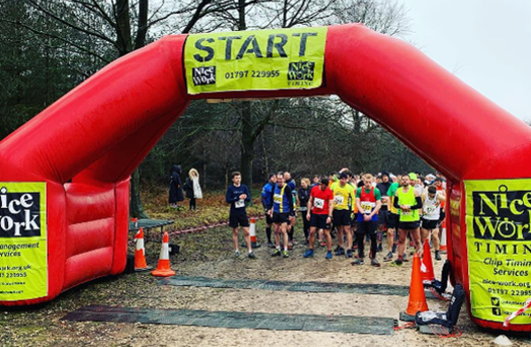 Start Of Cannock Chase 10 And 5 Mile