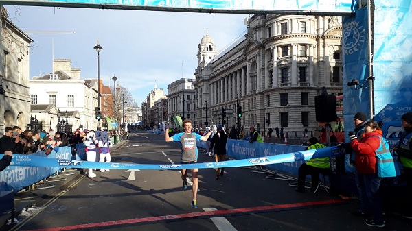Chris Rainsford wins 2019 London Winter Run