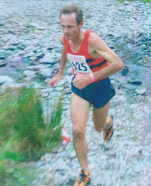 Nigel Gates M50 World Mountain Running Champion