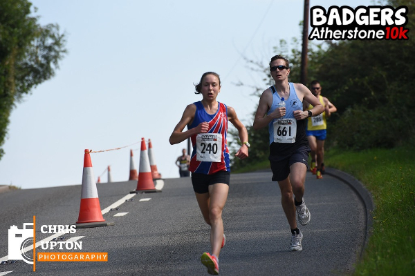 Polly Keen On Her Way To A Win At BADGERS Atherstone 10K