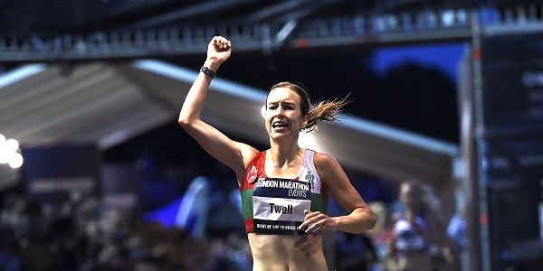 Steph Twell wins Night of 10,000m PBs