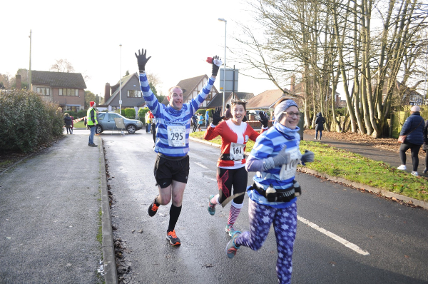 Festive Capers At Sneyd Striders Xmas Pudding Run