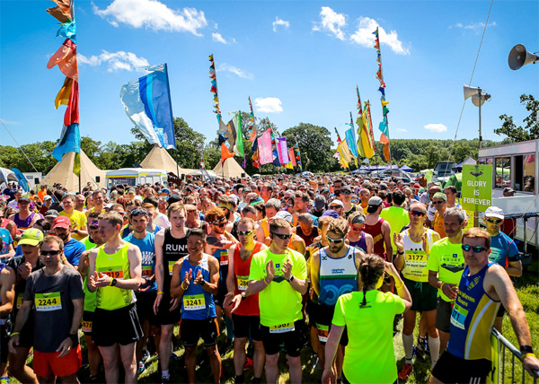 A big group shot from Endure 24 Leeds