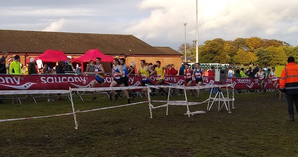 English Cross Country Relay 2019 - senior men's race