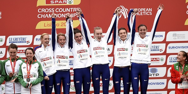 Britain's senior women win gold at Euro Cross 2019
