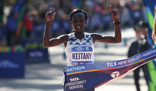 Mary Keitany wins New York Marathon 2018