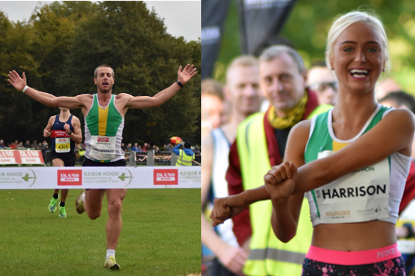 Winners At Robin Hood Half Marathon