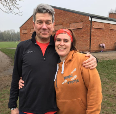 Marriage Proposal At Leamington NYD parkrun