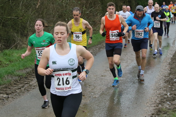 Braving The Storm At Race 5 Tempo Winter 10K Series