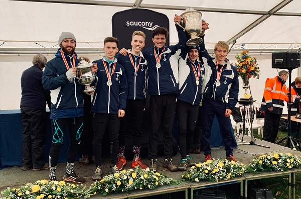 Tonbridge AC senior men's team win National XC 2020