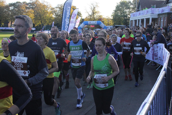Chesterfield Half Marathon Five In Five Challenge
