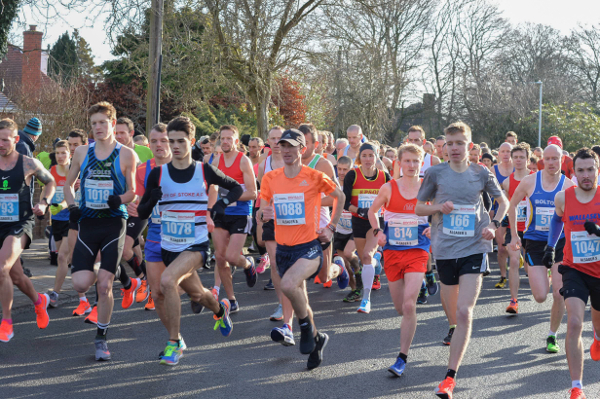Runners At The Alsager 5