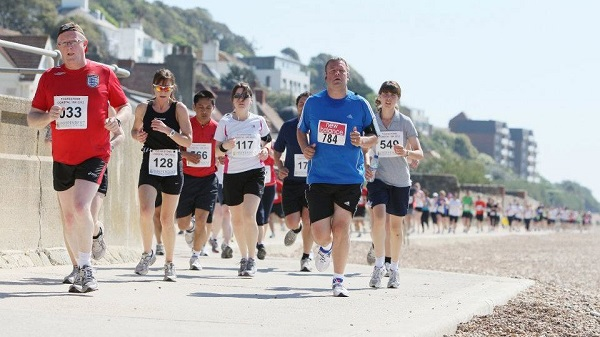 Folkestone 10K early stages