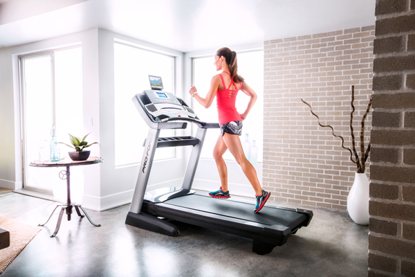 home runner enjoying the benefits of the Pro-Form 3 treadmill